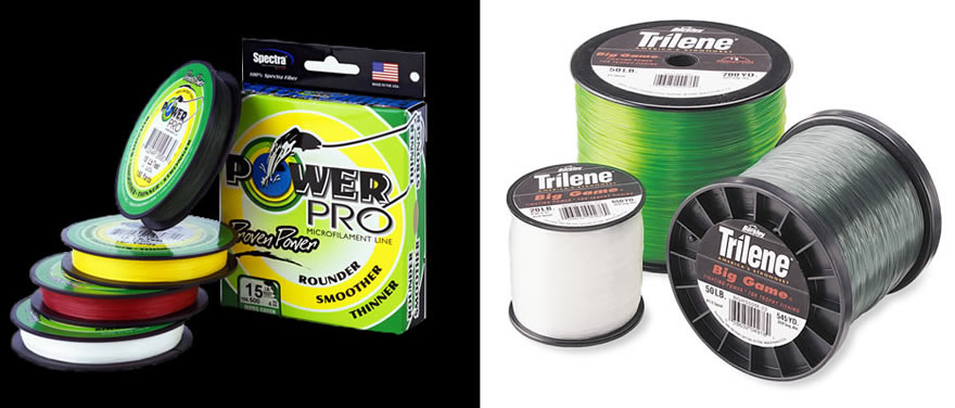 Braid and Mono Fishing Line