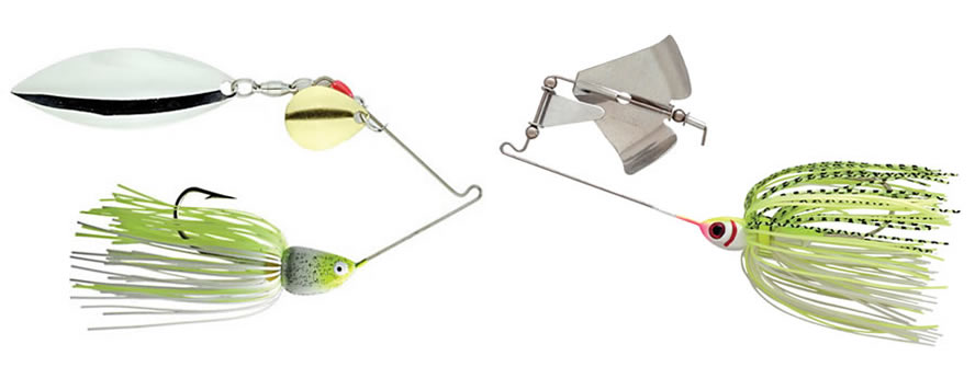 Spinnerbait and Buzzbait