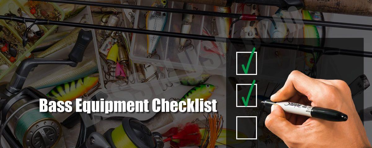 Bass Fishing Equipment Checklist