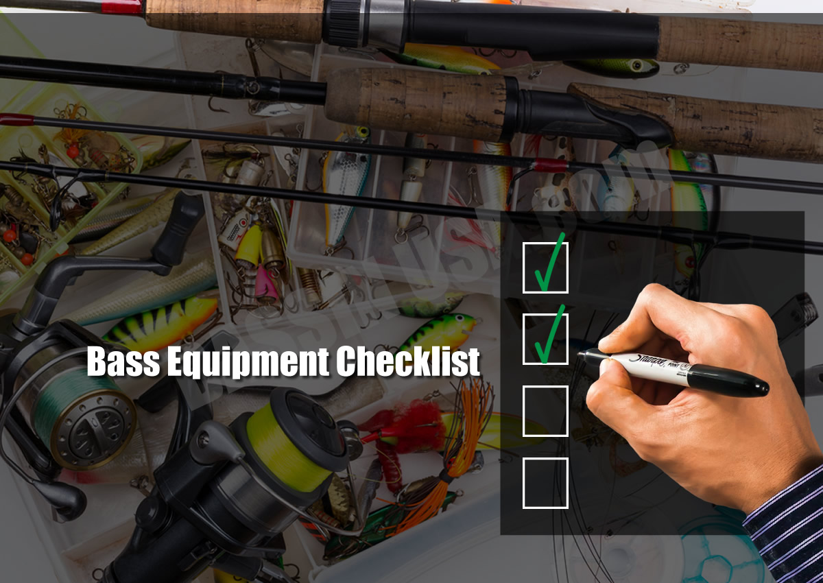 Bass Fishing Equipment Checklist