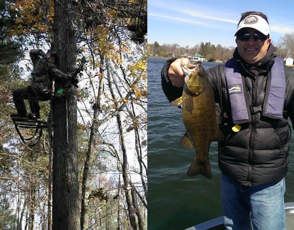 Deer Hunting & Bass Fishing