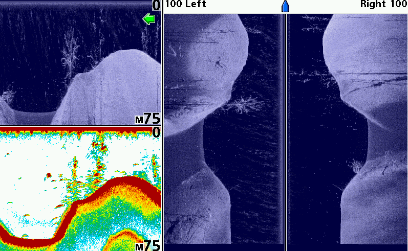Side Imaging of a Ditch