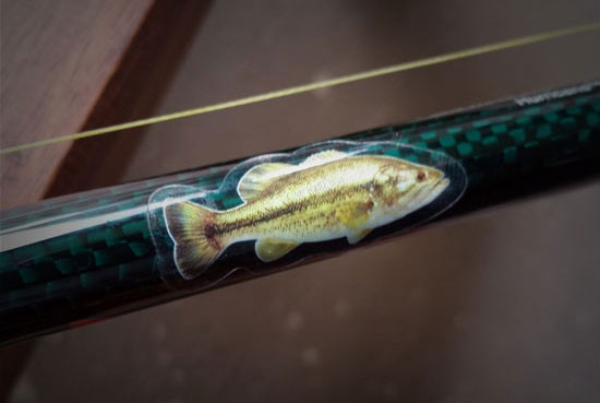 Largemouth Rod Decals