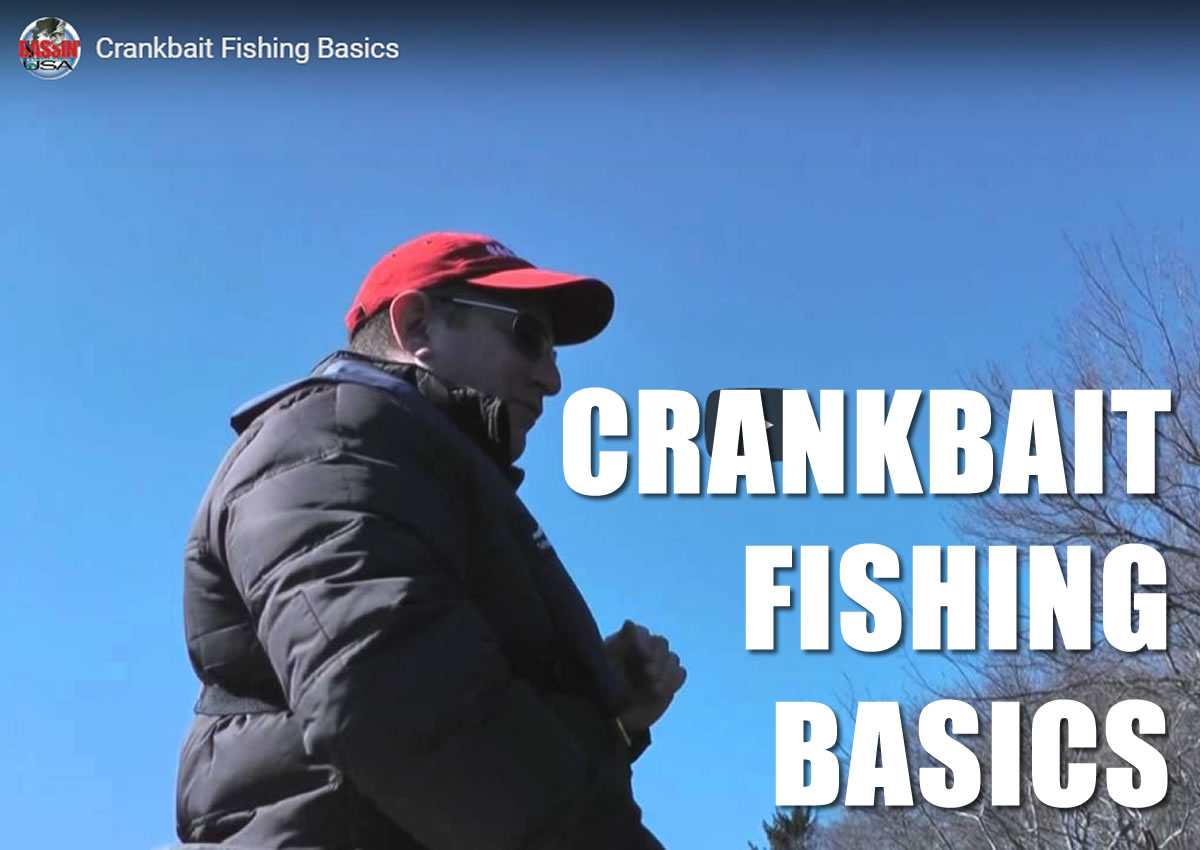 Crankbait Fishing Basics Video