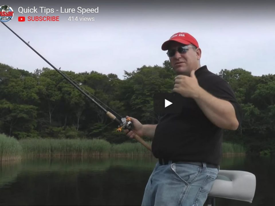 Bass Fishing Lure Speed